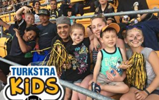 Turkstra Lumber Hamilton Bull Dogs Football team for kids Community Dundas