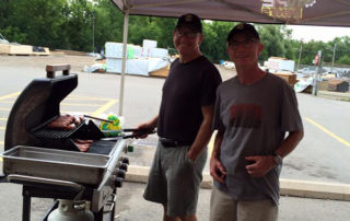 Turkstra Lumber BBQ Outdoor event Vendor Community Customer Service Quality Products Ontario