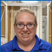 Christine Bajc - Counter Staff-Turkstra Lumber, windows, doors, trim, paint, trusses, building materials, Waterdown.